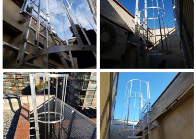 DIN 18799-1 Escalera de acceso vertical a cubierta C/ Doctor Fleming, 21