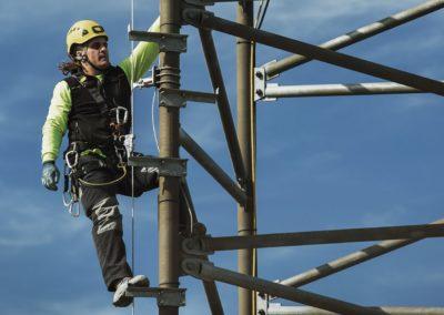 EN353-1:2015 Línea de Vida Vertical Cable. SecuRope®